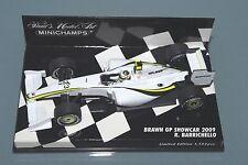 Minichamps F1 1/43 BRAWN GP SHOWCAR BARRICHELLO 2009 Limited Edition 1152pcs