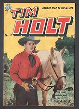 TIM HOLT #15  (1948 Series) Golden-Age Ghost Rider 1950