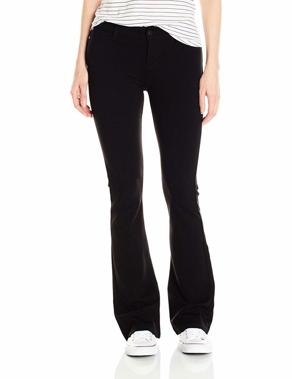 Celebrity Pink Jeans Women's Power Ponte Mid Rise Boot Cut - Choose SZ color
