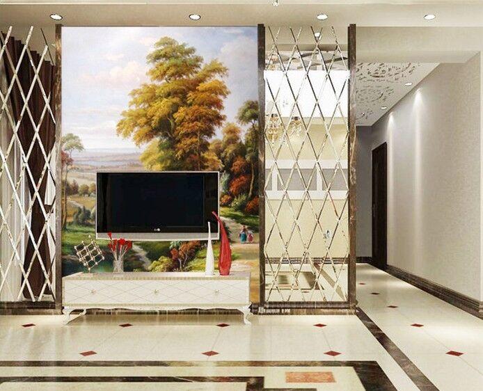 3D Pastorale Malerei 84 Tapete Wandgemälde Tapete Tapeten Bild Familie DE Summer