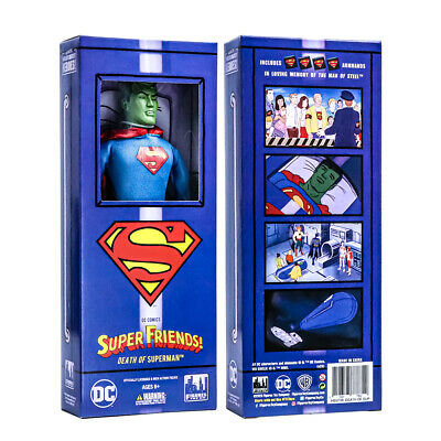 Super Friends Action Figures Series Death of Superman Boxed Variant