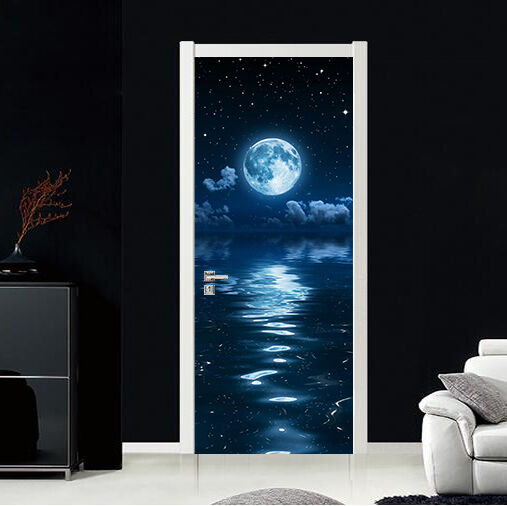 3D Mondschein Tür Wandmalerei Wandaufkleber Aufkleber AJ AJ AJ WALLPAPER DE Kyra    Vielfältiges neues Design    Online Store      531fb8