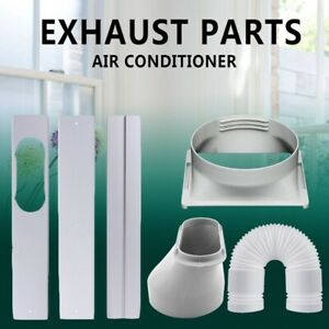 Window-Adaptor-3PCS-Kit-Plate-Exhaust-Hose-Tube-For-Portable-Air-Conditioner