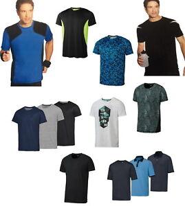 Herren Funktionsshirt Laufshirt Joggingshirt Sportshirt Walkingshirt T-Shirt