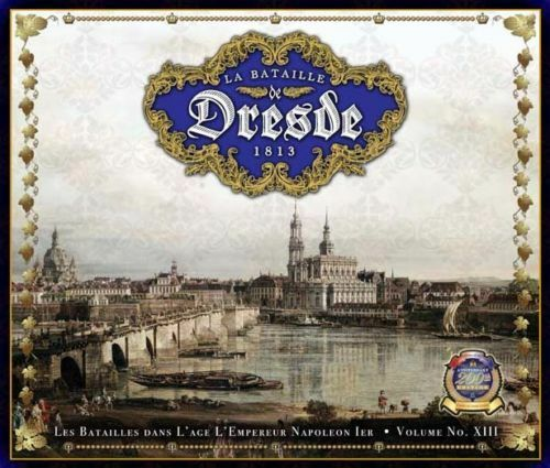 LA BAsize DE DRESDE 1813 - CLASH OF ARMS GAMES - NAPOLEONIC BOARD GAME