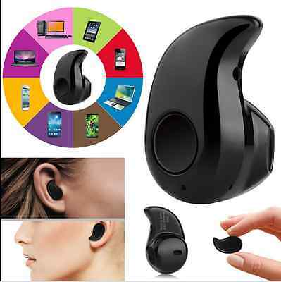Mini Wireless Bluetooth 4.0 Stereo Invisible Sport In-Ear Headphone Headset