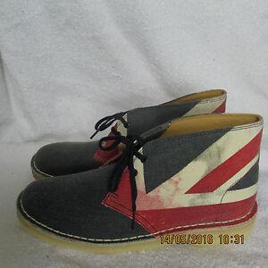 31c5c318 Details about NEW Clarks Originals Desert boots UNION JACK Size UK 6.5 C /  US 8.5 Narrow FIT