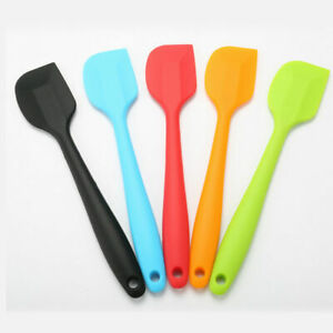 Silicone-Cake-Cream-Spatula-Mixing-Scraper-Brush-Spoon-Kitchen-Baking-Tool