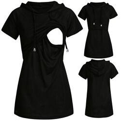 Still-Unterhemd Umstandsmode T-Shirt Schwanger tunika Mama Bluse Stilltop