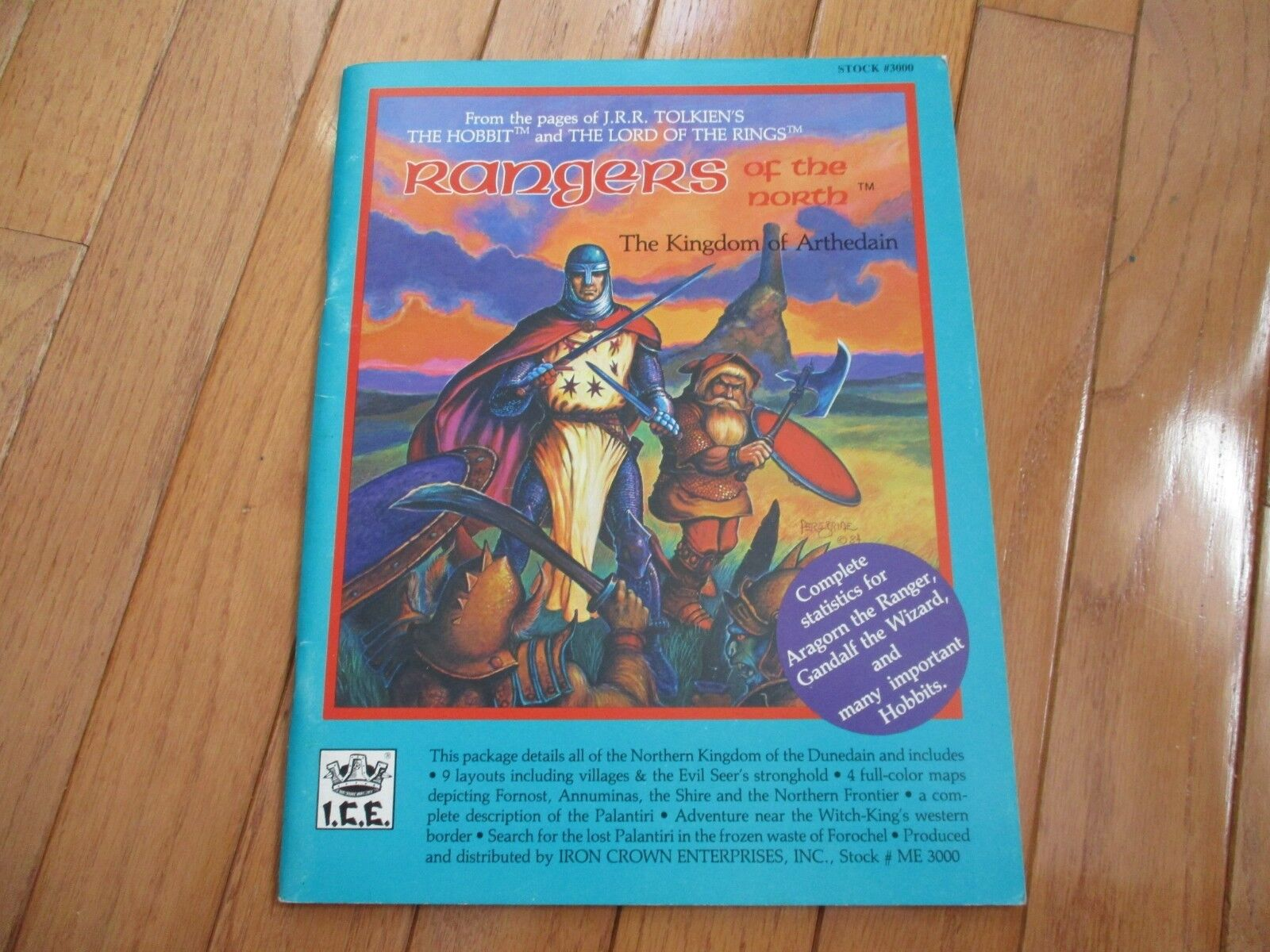 MERP Rolemaster Rangers of the North The Kingdom of Arthedain