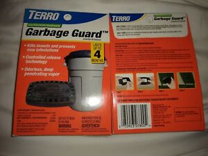 Terro-T800-Garbage-Guard-Lot-Of-2-Insect-Killer-Odorless-Indoor-Outdoor-4-Months
