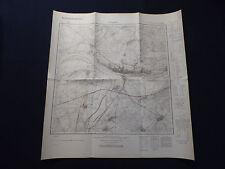 Landkarte Meßtischblatt 3956 Crossen a.d. Oder / Krosno Odrzańskie, Neuamrk 1937