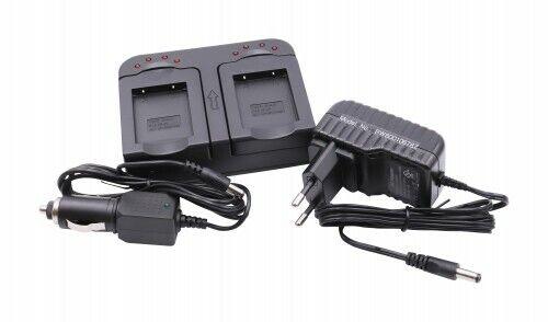 Batería cargador dual para medion md86121//md86358//md86497