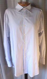 Brooks-Brothers-17-34-Blue-Non-Iron-Egyptian-Cotton-Long-Sleeve-Dress-Shirt-Man