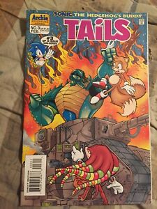 Sonic-The-Hedgehog-039-s-Buddy-Tails-3-Archie-Comics-1996