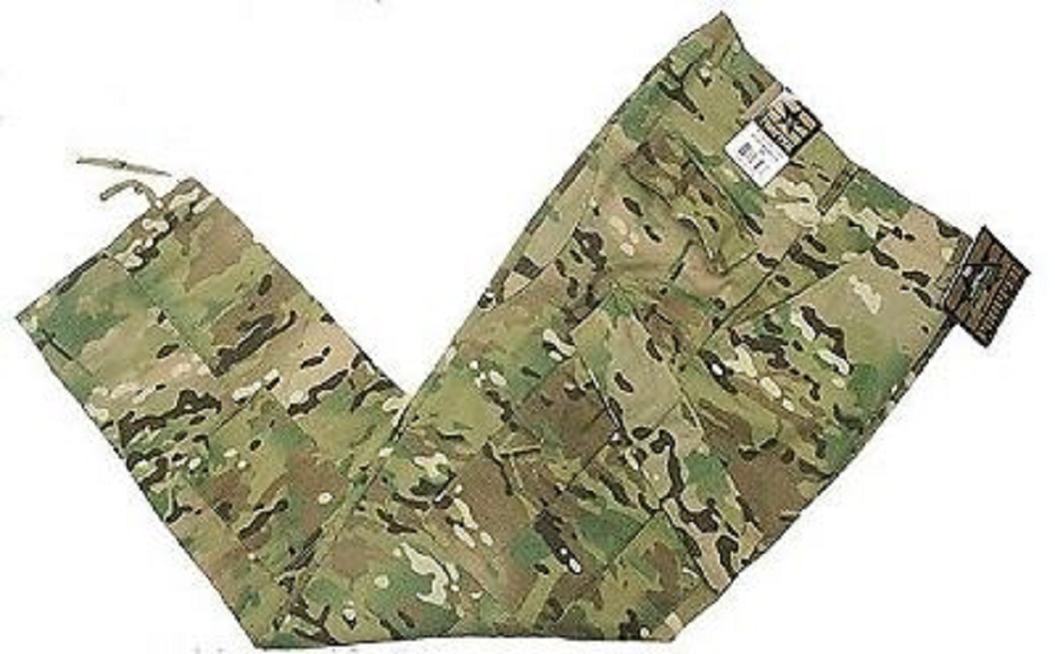 US Army Tactical Battle Rip ACU Multicam OCP Combat  Hose pants Small Long