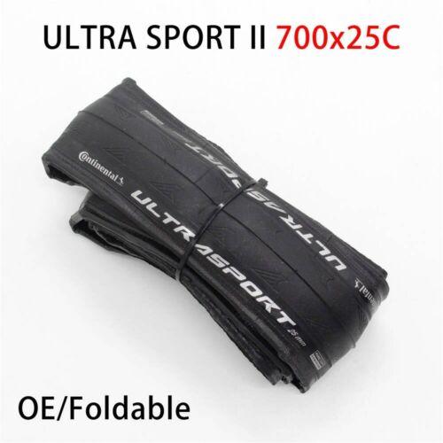 Continental ULTRA SPORT II Sport RACE 700*23//25C 28c Road Bike Tire bicycle tyre