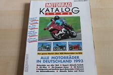 152115) Motorrad - Katalog - 1993