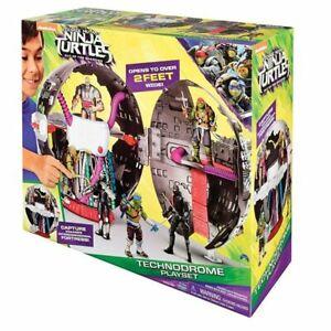 Teenage-Mutant-Ninja-Turtles-Movie-2-Technodrome-Playset-Damaged-Retail-Pack