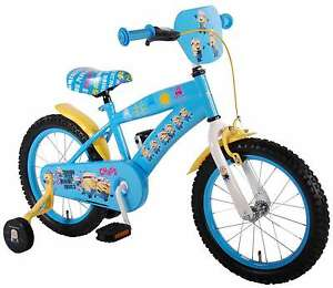 minions kinderfahrrad disney 16 zoll st tzr der fahrrad. Black Bedroom Furniture Sets. Home Design Ideas