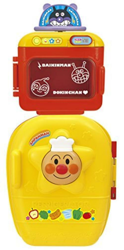 NEW Anpanman Refrigerator and Microwave range set from Japan F S