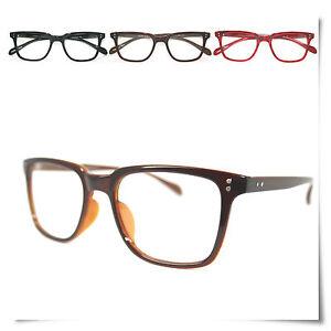 FREE-CASE-NEW-BIG-VINTAGE-Reading-Glasses-Brown-AllWARE