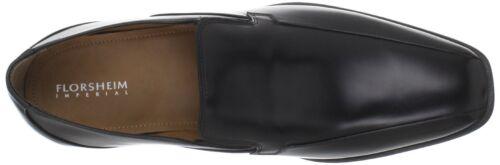 Florsheim Men/'s 11356 Freelance Bike Toe Black Leather Slip-On Shoe