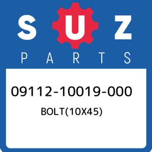 09112-10019-000-Suzuki-Bolt-10x45-0911210019000-New-Genuine-OEM-Part