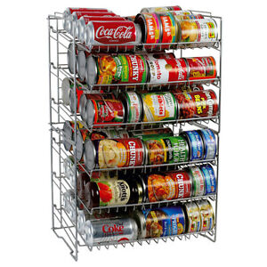 Image Is Loading Wire Can Rack Soda Soup Organizer Cabinet Pantry