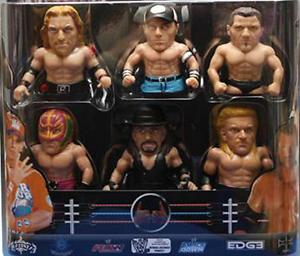World Wrestling Ultimate WWE pouce lutteurs-Lot de 2 SET FIGURE