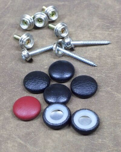 """25-DURA-SNAP UPHOLSTERY BUTTONS #30-#36 WITH 3//4/"""" 1 1//2/"""" SCREW STUDS-ANY COLOR"""