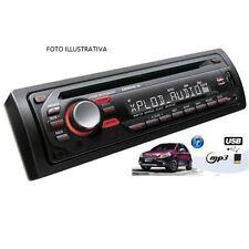 STEREO AUTO AUTORADIO CD DVD MP3 MP4 SD USB AUX 52WX4 FRONTALINO ESTRAIBILE 470