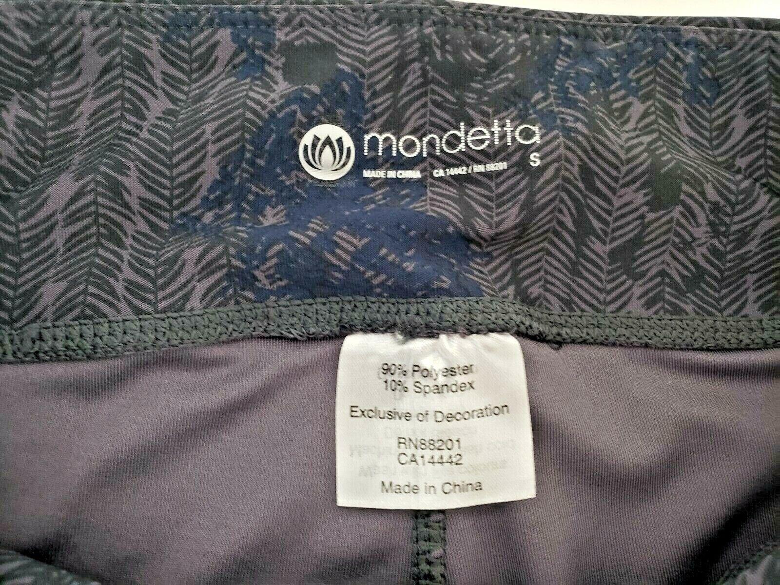 Mondetta Women's Capri Gym Pants Leggings Yoga Pants Size Small