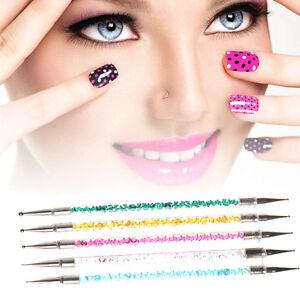 5pc-Set-Two-Way-Nail-Art-Pens-Dotting-Manicure-Tools-Painting-Drawing-Polish-Pen