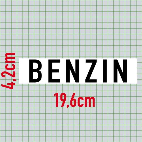 ADESIVI BENZINA 20cm Sticker din1451 trasporti carattere AUTO SERBATOIO TANICA nota