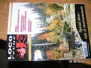 !§. Loco Revue N°594 Decor Voie & Environnement Gare Morez Depot Ste Menehould