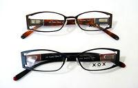 50-18-140--xox Full Rim Unisex Frame/ Black & Brown /metal & Plastic Very Sturdy