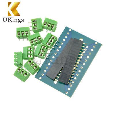 Nano terminal adapter for arduino nano v3.0 avr ATMEGA328P module boardH9 TO
