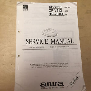Original aiwa service manuals for cd players xc xp ebay image is loading original aiwa service manuals for cd players xc publicscrutiny Images