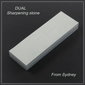 Large-220mm-Sharpening-Oil-Stone-DUAL-WHETSTONE-Double-Sided-Blade-Sharpener