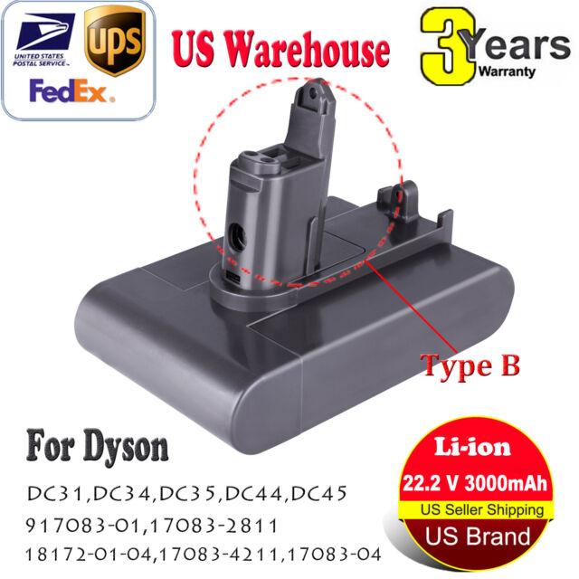22.2V 3.0Ah Li-ion Battery For Dyson DC31/DC34/DC35/DC44/MK2 Animal (Type B) TOP