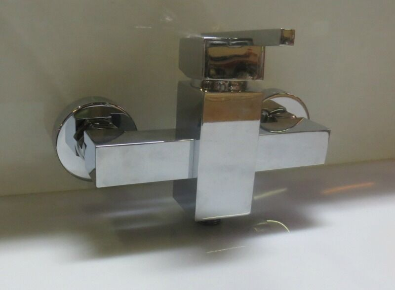 Rubinetto Doccia Doccia Doccia Esterno Mix Monocomando Laser IdroBric Cromato Miscelatore new c20a48