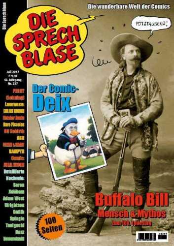 Sprechblase 237 Buffalo Bill Peggy Lehning Frazetta Don Lawrence DC Rebirth