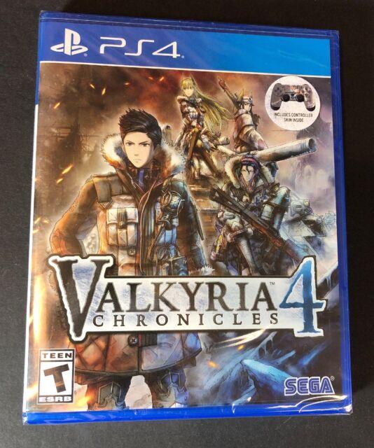 Valkyria Chronicles 4 [ Launch Edition W/ Bonus Controller Skin ] (PS4) NEW
