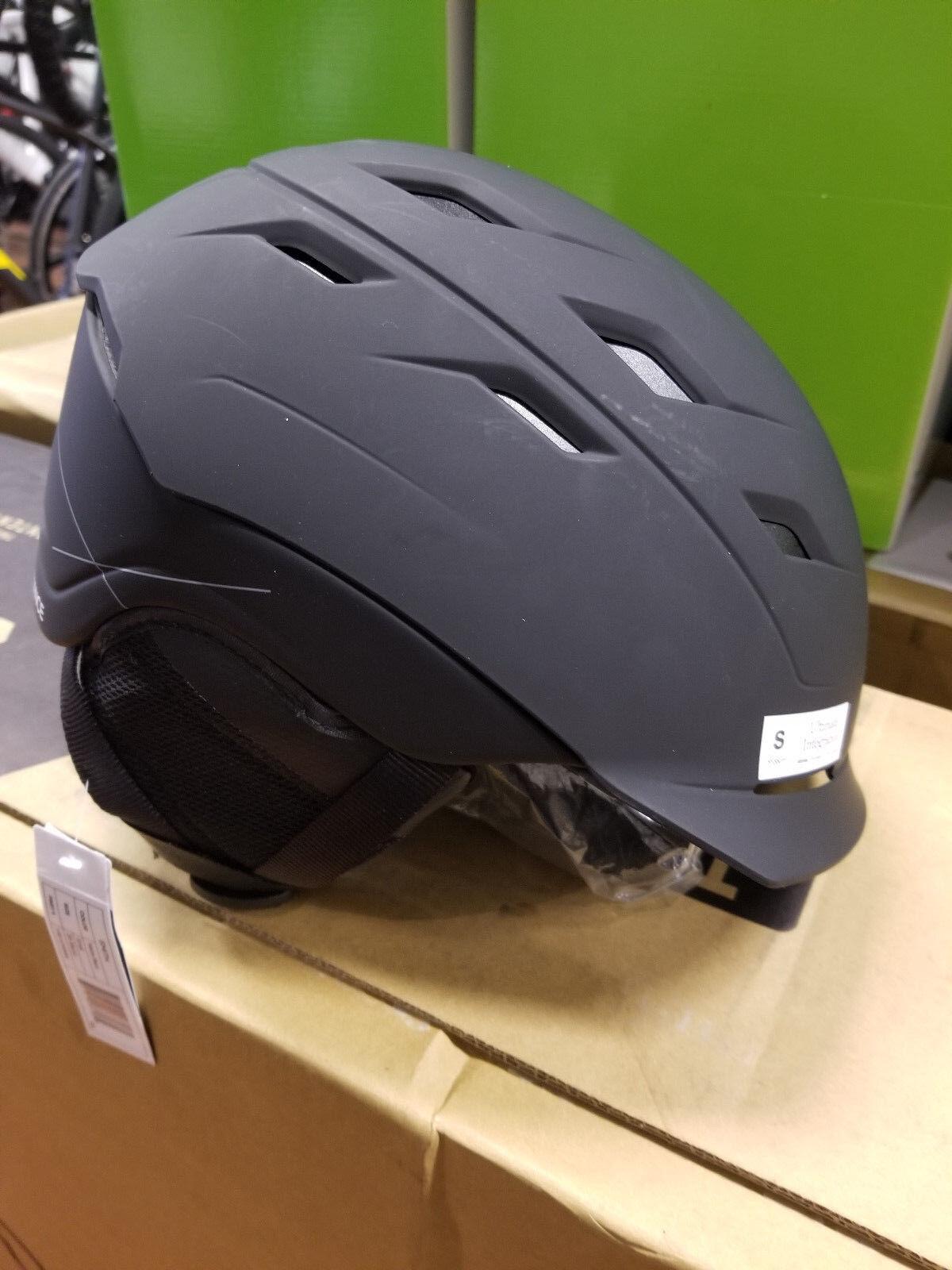 Smith Optics Unisex Adult Variance Snow Sports Helmet - Small 51-55cm Matte Blk