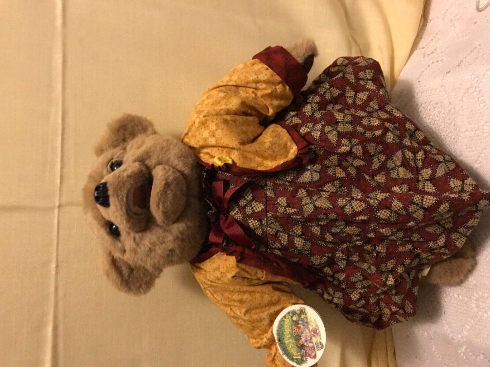 Vintage 1996 Rare Frankie (122/250) Beaver Valley Zoe's Friends Bear SIGNED