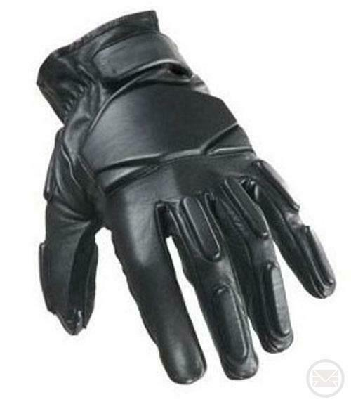 SWAT Tactical Leather Gloves - XL