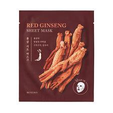MISSHA 3D Red Ginseng Sheet Mask 1ea - myeongdong beauty