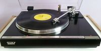 Sony PS-X55 Direct Drive Turntable with Shure M75EJ Cartridge