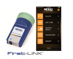 Nexiq Blue Link Mini Blueooth Apple iOS Andoid Heavy Truck Code Diagnostics Read